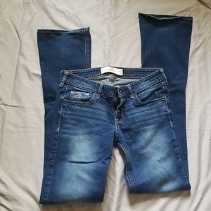 Hollister jeans size 5 L